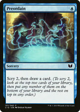MTG X1: Preordain, Commander 2015, C, Light Play - FREE US SHIPPING!