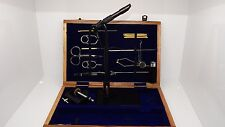 Super AA  Fly tying tool kits in a wooden box, Vice, tools, ( code FT65 )
