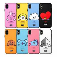 BTS BT21 Official Goods Peekaboo Muti Card Bumper Case for iPhone / Galaxy Note
