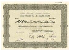 Brevillier & Co und A.Urban & Söhne  Wien 1956     1000 Schilling