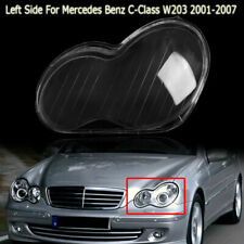 Left Headlight Headlamp Clear Lens Cover fit For Mercedes Benz 2001-07 W203