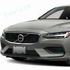 1PCS For VOLVO Black Stainless Steel Metal License Plate Frame New