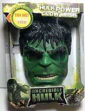 HULK Electronic LIGHT-UP MASK The Avengers-Incredible Hulk Glowing Eyes HASBRO