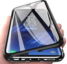 Coque Magnétique Verre Trempé AVANT+ARRIÈRE iPhone SE 2020 11 Pro Xr Xs Max 7 8