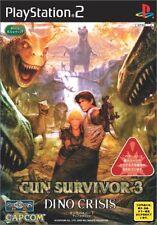 Used PS2 Gun Survivor 3: Dino Crisis Japan Import