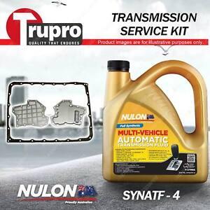 SYNATF Transmission Oil + Filter Kit for Nissan D40 D23 NP300 Pathfinder R51