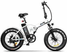 """Fat-Bike Bicicletta Elettrica Pieghevole a Pedalata Assistita 20"""" 250W ICON.E W"""
