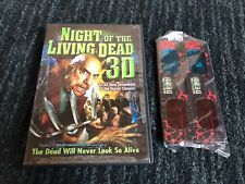 Night of the Living Dead 3D (DVD, 2007) INCLUDES (4) SEALED PAIRS OF 3D GLASSES