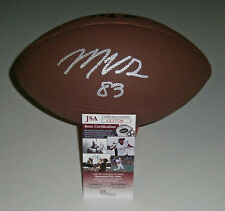 PACKERS Marquez Valdes-Scantling signed football w/ #83 AUTO JSA COA Autographed