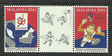 MALAYSIA 1994 COMMONWEALTH GAMES Gutter Pair RUGBY MNH