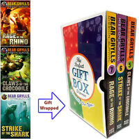 Mission Survival Series Collection Bear Grylls 3 Books Gift Wrapped Slipcase NEW
