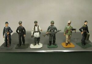 Lead Toy Soldiers STADDEN German Army, Navy, Air Force, Afrika Corps etc. WW2