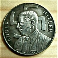 WW2 GERMAN COMMEMORATIVE COLLECTORS COIN 1 MARK AHITLER