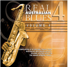 Real Australian Blues Volume Four. Brand New CD - Latest Remastered edition