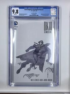 DC's Dark Knight III Master Race #1 Heroes Sketch Edition CGC 9.8
