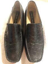 Mezlan Mens Shoes Exotic (Genuine Crocodile Skin) Slip On Loafers Size 8.5M US