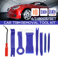 Car Trim Removal Tool Kit Set Door Panel Fastener Auto Dashboard Plastic