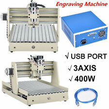 Usb 3 Axis 400W Cnc 3040 Router Engraving Drilling / Milling Machine+ Controller