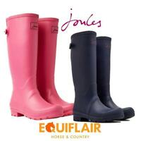 Joules Field Wellies with Adjustable Back Gusset - More Colours