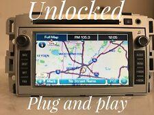 """GM728"" 07-08 UNLOCKED CHEVY EQUINOX Navigation Radio MP3 AUX CD Player"