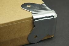 8Pcs Durable Chrome 2 Holes Speaker Box Cabinet Steel Corner Edge Protector