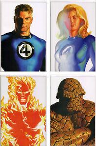 FANTASTIC FOUR #24 (ALEX ROSS TIMELESS VIRGIN VARIANT SET)(1ST PRINT) ~ Marvel