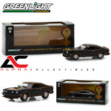 GREENLIGHT 86320 1:43 1978 FORD MUSTANG COBRA II BLACK W/GOLD W/CASE