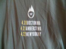 DAVE MATTHEWS Band Boston Amherst New York Tour Concert T-Shirt DMB Large