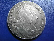 William and Mary Halfcrown 1692