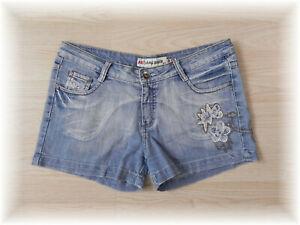 * hübsche Jeans Shorts, kurze Jeans * Stretch * Gr. 40