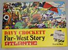 Davy Crockett Far-West Story HO Vintage Model Kit Atlantic #1005 - Mint In Box
