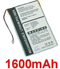 Battery 1600mAh Type P325385A4H for Apple Ipod 1st Generation (16GB)