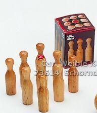 Weiblespiele 10730 - 9 Ersatzkegel für Tiroler Tischkegelspiel 10700 Mespi - neu