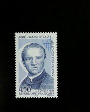 1998 France Father Franz Stock, Prison Chaplain Scott 2632 Mint F/VF NH