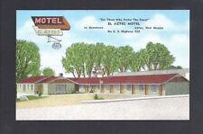 Aztec New Mexico NM Motel EL Aztec, Downtown on US Hwy 550, Near Mint PC