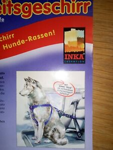 Car Safety Harness Inca with Leash, Harness, Size M-L