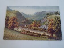 Vintage Postcard BERWYN FROM SOUTH Franked+Stamped 1954  §A695