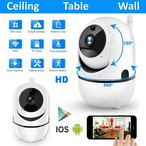 1080P Wireless WiFi CCTV surveillance IP/Nanny Camera DVR Home Security Infrared