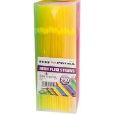 Neon Flessibile BERE Cannucce Flexi Festa Snodato qualità colorate colori nuovi