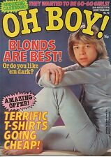 Oh Boy! Magazine 26 August 1978 No.92  Keith Atack of Child  Pat McGlynn's Band