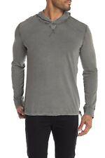 $190 Authentic Rare JOHN VARVATOS COLLECTION Men's Gray Hoodie Sweatshirt