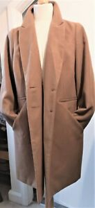 Tailored Camel Coat Ladies Womens Size 22  Wool Ex. Cond Lovely!