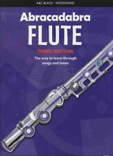 Abracadabra Flute 3rd Edition Sheet Music Book Learn How To Play Method