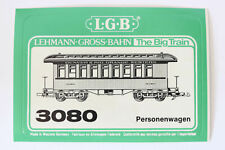 LGB 3080 Personenwagen