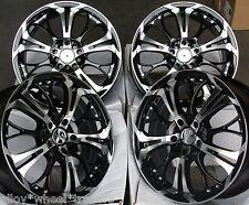 """17"""" BM GHOST ALLOY WHEELS FITS 5X98 ALFA ROMEO 147 156 164 GT FIAT 500L DOBLO"""