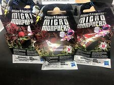 Power Rangers Micro Morphers 3 Blind Bags Recommended For 4+