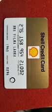 Shell Oil - Vintage Credit Card expired 1990's ♡Free Shipping♡ cc8f