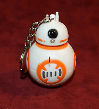 BB-8 Beebee-Ate Battle of Endor Astromech Droid Lighted Keychain