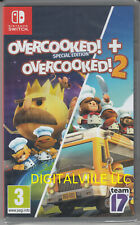 Overcooked 1 Special and 2 Nintendo Switch Brand New Factory Sealed