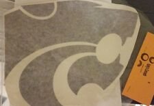 Kansas State wildcat head vinyl decals purple great college student gift